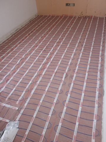 floor heating 12