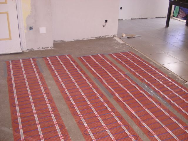 floor heating 15