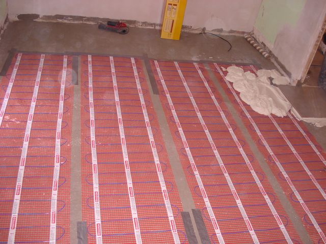 floor heating 16